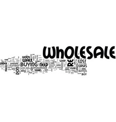 wholesale is it worth the cost text word cloud vector image vector image
