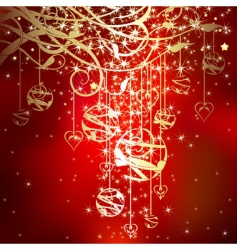 Christmas sparkle vector image
