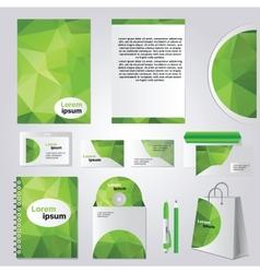 Corporate identity design vector image