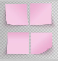 Office sticky stickers vector