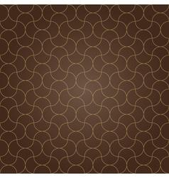 pattern background brown grid vector image
