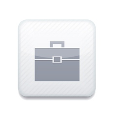 white Briefcase icon Eps10 Easy to edit vector image