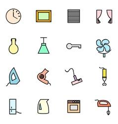 appliances set vector image