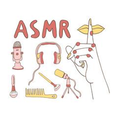 Asmr triggers concept vector