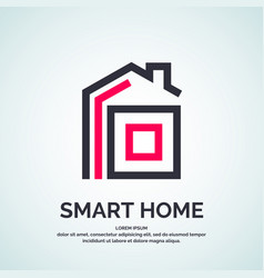 House logo smart vector