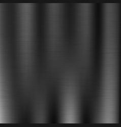Line grunge black metal texture vector