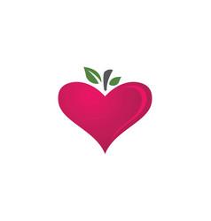 Love logo icon designtemplate vector