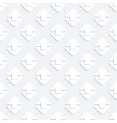 Modern seamless pattern with white geometricheskmi vector image