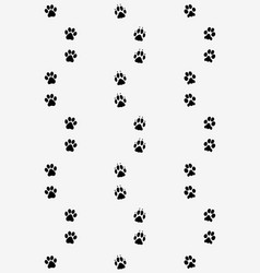 Prints dog paws vector