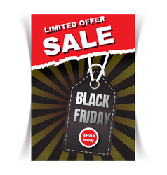 Sale flyer template vector