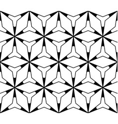 seamless pattern simple triangular texture vector image