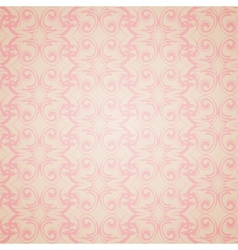 Seamless pattern wallpaper in Victorian style vector image
