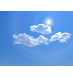 sky background vector image