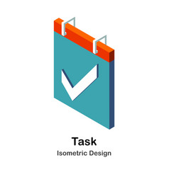 Task isometric vector