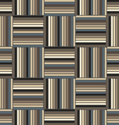 The pattern of torn colored lines vector image
