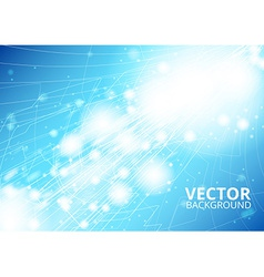 Vertical future technology abstract vector