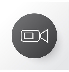 Video camera icon symbol premium quality isolated vector