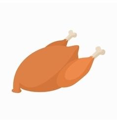Chicken icon cartoon style vector image vector image