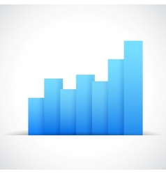 Infograph Business Graph vector image vector image