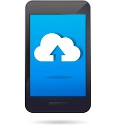 cloud app icon vector image vector image