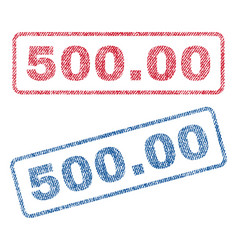 50000 textile stamps vector