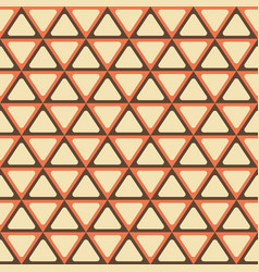 Abstract geometric pattern with triangles vector