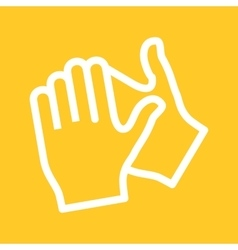 Clapping Hands vector image