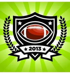 Football Emblem vector