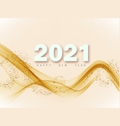 futuristic abstract gold gradient dot wave line vector image