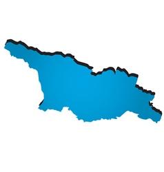 Georgia vector image vector image