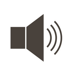 icon speaker megaphone vector image