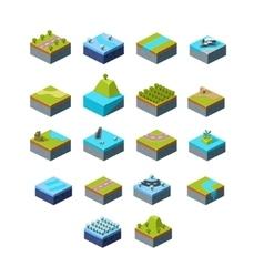 Isometric Landscape vector