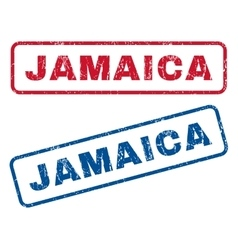 Jamaica Rubber Stamps vector