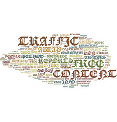 Little known ways to generate free traffic text vector