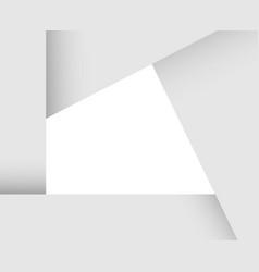 paper card frame vector image