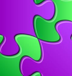 Puzzle pieces detail vector