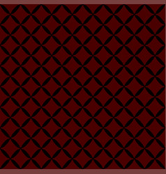 seamless abstract grid black pattern vector image