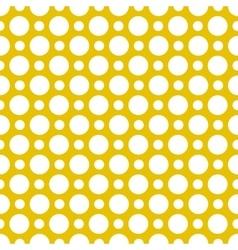 Seamless polkadot pattern vector