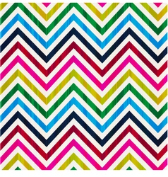 seamless repeated chevron background vector image