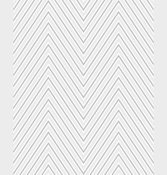seamless zigzag pattern vector image
