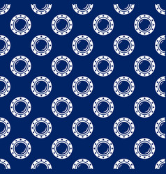 seamless travel pattern with porthole vector image vector image
