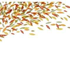 Autumn fallen leaves Autumn fall For autumn and t vector image