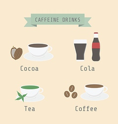 caffeinedrink vector image