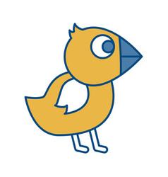 chicken bird icon vector image
