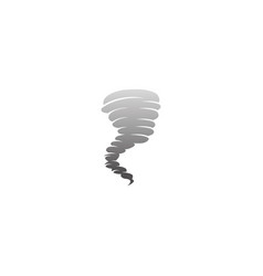 cyclone and whirlwind storm logo vector image