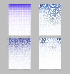 geometrical pattern flyer design - tiled mosaic vector image