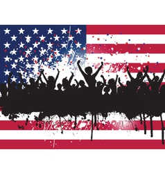 independence day party 3005 vector image