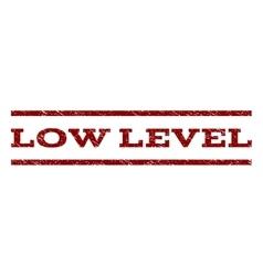 Low Level Watermark Stamp vector