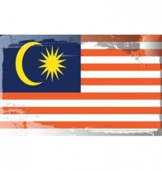Malaysia national flag vector image