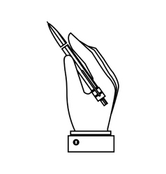 Pen write isolated icon vector